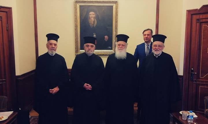 The Holy Theological School of Halki and the Interorthodox Centre of the Church of Greece sign a Memorandum of Cooperation