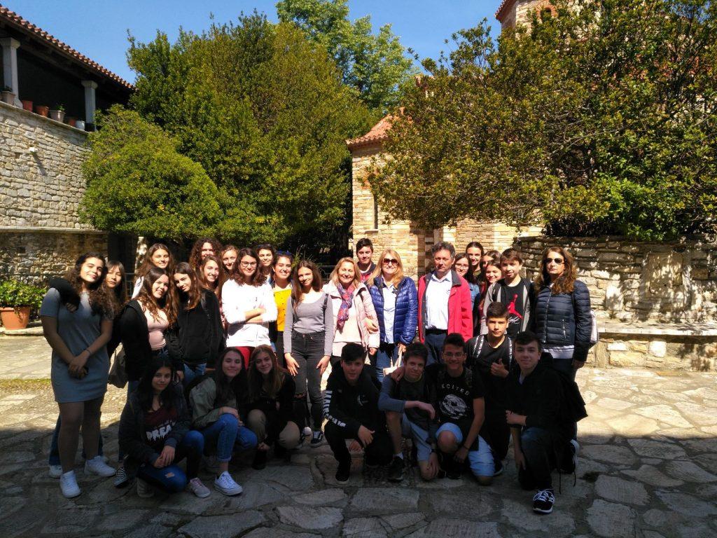 Επίσκεψη Γυμνασίου Μεταμόρφωσης-Ηρακλείου